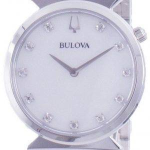 Bulova Classic Diamond Accents Quartz 96P216 Womens Watch
