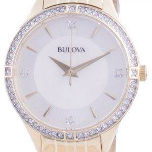 Bulova Diamond Accents Quartz 98L274 Womens Watch