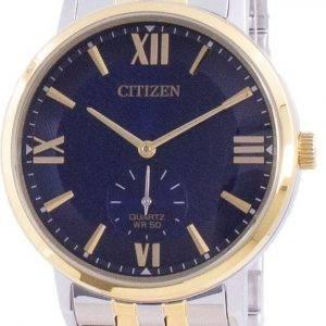 Citizen Blue Dial Stainless Steel Quartz BE9176-76L Mens Watch