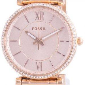 Fossil Carlie Diamond Accents Quartz ES4301 Womens Watch