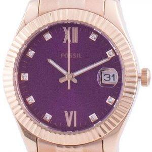 Fossil Scarlette Mini Diamond Accents Quartz ES4900 Womens Watch