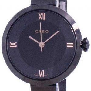 Casio Analog Black Dial LTP-E154B-1A LTPE154B-1A Womens Watch