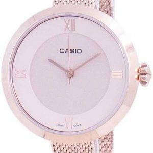 Casio Analog Pink Dial LTP-E154MPG-4A LTPE154MPG-4A Womens Watch