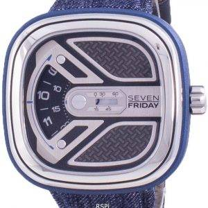 Sevenfriday M-Series Urban Explorer Automatic M1B01 SF-M1B-01 Mens Watch
