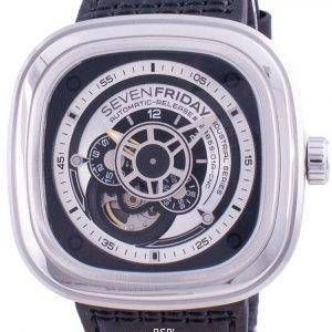 Sevenfriday P-Series Automatic P1B01 SF-P1B-01 Mens Watch