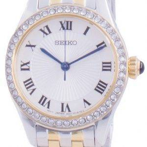 Seiko Discover More Diamond Accents Quartz SUR336 SUR336P1 SUR336P Womens Watch