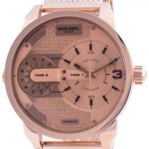 Diesel Mini Daddy Rose Gold Tone Dial Quartz DZ5600 Men's Watch