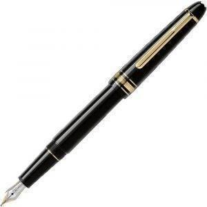 Montblanc Meisterstuck Classique Gold Coated 106514 Black Fountain Pen