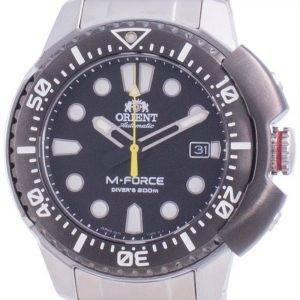 Orient M-Force AC0L 70th Anniversary Automatic Divers RA-AC0L01B00B Japan Made 200M Mens Watch