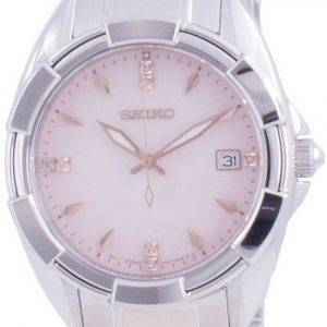 Seiko Discover More Diamond Accents Quartz SKK725 SKK725P1 SKK725P 100M Womens Watch