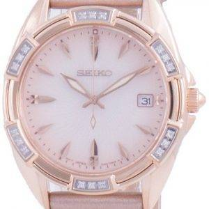 Seiko Diamond Accents Quartz SKK726 SKK726P1 SKK726P 100M Womens Watch