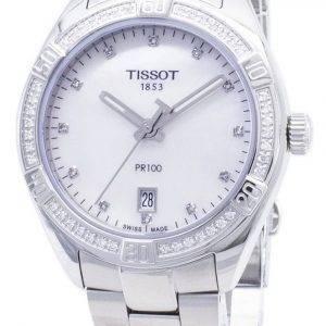 Tissot T-Classic PR 100 Lady Sport T101.910.61.116.00 T1019106111600 Diamond Accents Quartz Womens Watch