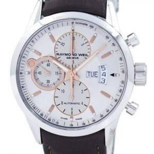 Refurbished Raymond Weil Geneve Freelancer Chronograph Automatic 7730-STC-65025 100M Men's Watch