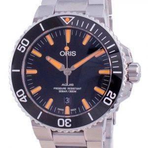 Oris Aquis Date Automatic Diver's 01-733-7730-4159-07-8-24-05PEB 300M Men's Watch