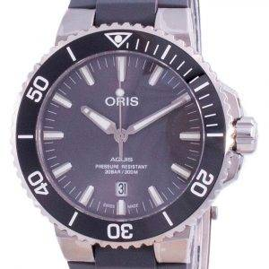Oris Aquis Date Automatic Diver's Titanium 01-733-7730-7153-07-4-24-63TEB 300M Men's Watch