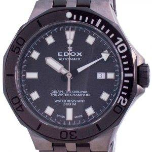 Edox Delfin The Original Automatic Diver's 80110357GNMGIN 80110 357GNM GIN 300M Men's Watch