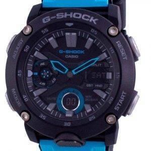 Casio G-Shock Standard Analog Digital Carbon Core Diver's GA-2000-1A2 GA2000-1A2 200M Men's Watch
