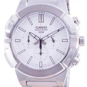 Casio Multi Hands Analog Quartz Chronograph MTP-E500D-7A MTP-E500D-7 Men's Watch