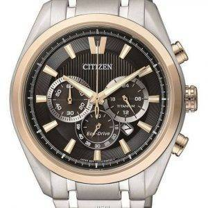 Refurbished Citizen Eco-Drive Chronograph CA4014-57E 100M Men's Watch