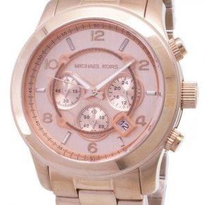 Refurbished Michael Kors Runway Quartz Chronograph MK8096 100M Unisex Watch