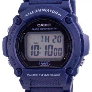 Casio Youth Illuminator Digital W-219H-2A W-219H-2 Men's Watch