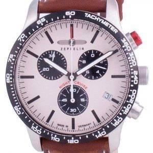 Zeppelin Night Cruise Chronograph Quartz 7296-1 72961 100M Men's Watch