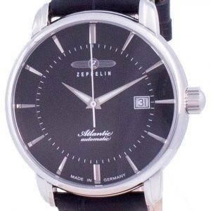 Zeppelin Atlantic Black Dial Automatic 8452-2 84522 Men's Watch