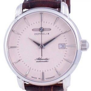 Zeppelin Atlantic Beige Dial Automatic 8452-5 84525 Men's Watch