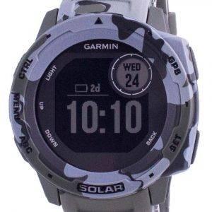 Garmin Instinct Solar Tactical Edition Lichen Camo Silicone Band 010-02293-06 Multisport Watch