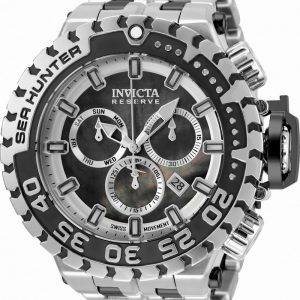 Invicta Reserve Sea Hunter Chronograph Diver's Quartz 34591 500M Men's Watch