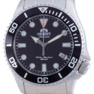 Orient 70th Anniversary Automatic Diver Black Dial RA-AC0K01B00C 200M Men's Watch