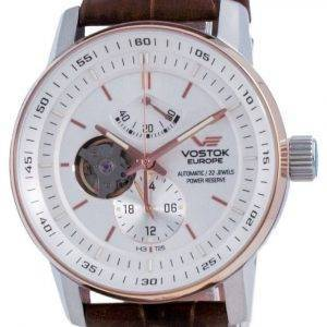Vostok Europe GAZ 14 Open Heart Automatic YN84-565E550-L Mens Watch
