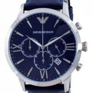 Emporio Armani Giovanni Chronograph Blue Dial Quartz AR11226 Men's Watch