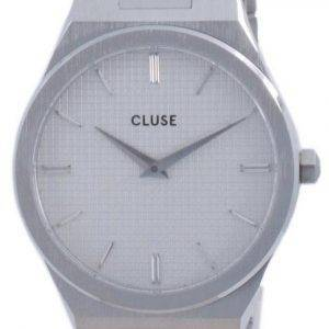 Cluse Vigoureux H-Link White Dial Stainless Steel Quartz CW0101210003 Womens Watch