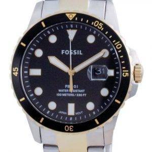 Fossil FB-01 Stainless Steel Quartz FS5653 100M Men's Watch