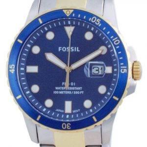 Fossil FB-01 Stainless Steel Quartz FS5742 100M Men's Watch