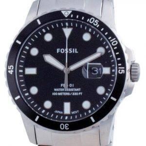 Fossil FB-01 Stainless Steel Quartz FS5805SET 100M Men's Watch