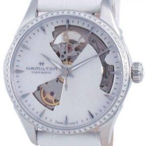 Hamilton Jazzmaster Open Heart Diamond Accents Automatic H32205890 Women's Watch