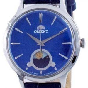Orient Classic Sun & Moon Blue Dial Quartz RA-KB0004A10B Women's Watch
