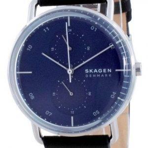 Skagen Horizont Blue Dial Leather Quartz SKW6702 Mens Watch