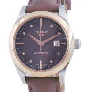 Tissot T-My Lady 18K Gold Diamond Accents Automatic T930.007.46.296.00 T9300074629600 Womens Watch