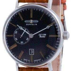 Zeppelin LZ120 Rome Black Dial Automatic 7104-2 71042 Men's Watch