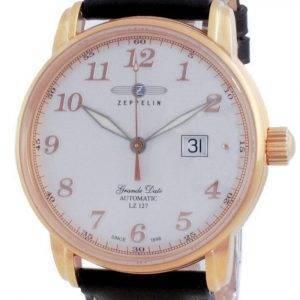 Zeppelin LZ127 Graf Silver Dial Automatic 7652-5 76525 Men's Watch