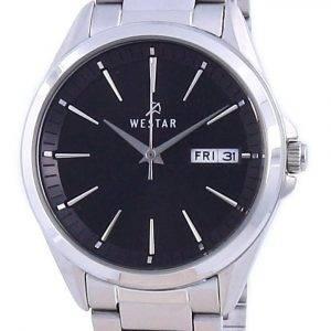 Westar Black Dial Stainless Steel Quartz 40212 STN 103 Women's Watch
