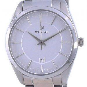 Westar Silver Dial Stainless Steel Quartz 40213 STN 107 Women's Watch
