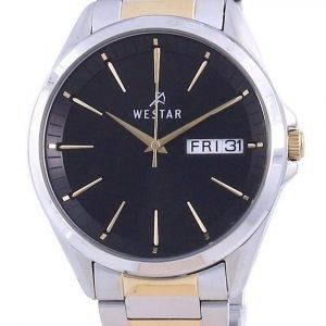 Westar Black Dial Stainless Steel Quartz 50212 CBN 103 Men's Watch