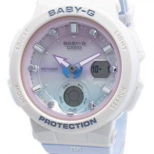 Casio Baby-G BGA-250-7A3 BGA250-7A3 World Time Quartz Women's Watch