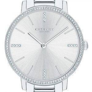 Coach Audrey Crystal Accents Stainless Steel Quartz 14503353 Womens Watch