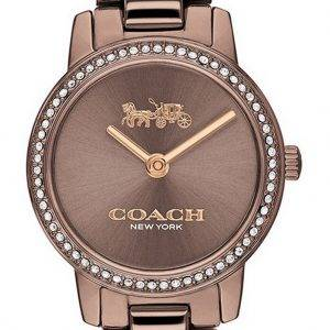 Coach Audrey Crystal Accents Stainless Steel Quartz 14503501 Womens Watch