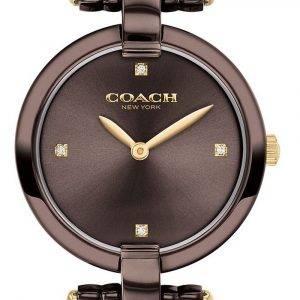 Coach Chrystie Brown Dial Stainless Steel Quartz 14503531 Womens Watch